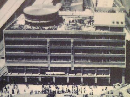 竣工当時の千葉駅ビル